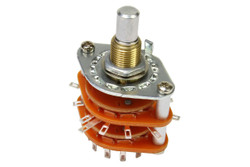 6 Position Rotary Guitar Switch
