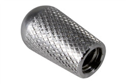 Knurled toggle switch knob - Aluminum
