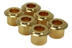 Large Flange 10mm Conversion bushings - Gold