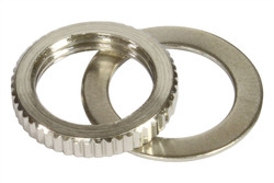 Metric M12 toggle switch nut - Nickel