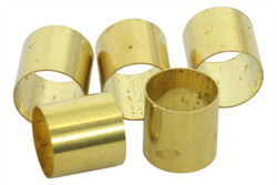 Brass adapter bushings for split shaft pots