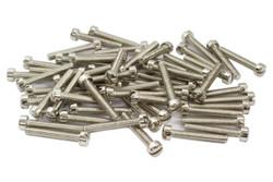 Vintage PAF Pole screws 1010 steel - Nckel - Qty 60