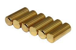 1215 Pole Slugs w/ Chamfered End - Gold