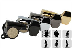 GOTOH SGS510Z-A07 Tuning Machine Small body Small Knob - Pre-Configured Sets