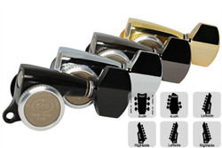GOTOH SGS510Z-A07 Locking Tuning Machine Small body/knobs - Pre-Configured Sets
