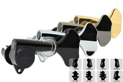 GOTOH GB707 Compact Bass Tuning Machines Tuners - Preconfigured Sets