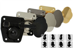 GOTOH GB2 Bass Tuning Machines Tuners - Preconfigured Sets