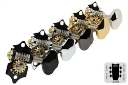 GOTOH SXB510V Open Back 3 x 3 Guitar Tuning Machines - Set