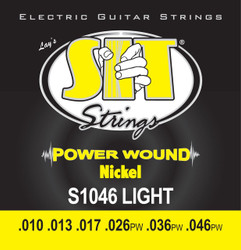 S.I.T. Strings S1046 - Powerwound Nickel Electric Light (10-46)