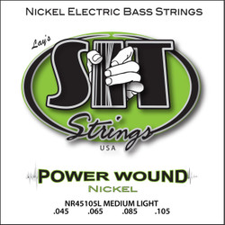 S.I.T. Strings NR45105L - Power Wound 4 String Bass Nickel Medium Light (45-105)