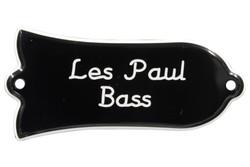 "Engraved ""Les Paul Bass"" Truss Rod Cover for Gibson Bass Guitars"