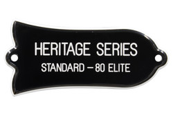 "Engraved ""HERITAGE SERIES STANDARD - 80 ELITE"" Truss Rod Cover for Gibson Guitars"