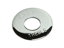 Toggle Switch Plate Chrome plated Brass