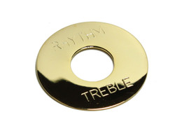 Toggle Switch Plate Gold plated Brass