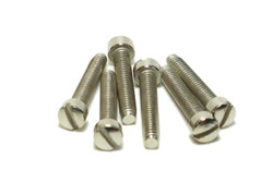 Humbucker P90 Fillister Pole Screws Nickel plated Qty 6