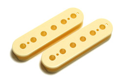 Humbucker Slug Side Pickup Bobbin Cream 49.2mm 2 pk