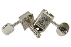 GOTOH SD91-H.A.P.M height adjustable locking guitar tuning machine.  Nickel finish with nickel knobs.