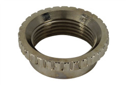 Coarse Knurl Deep Nut for Switchcraft toggle switches - Nickel