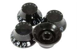 Black Bell Hat knob - Import coarse spline