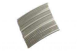 Stainless Steel Jescar FW43080-S fret wire pre-radiused