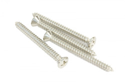 Nickel neck plate screws
