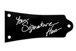 Signature truss rod cover for Epiphone Les Paul guitars.