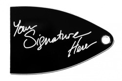 Signature truss rod cover for import PRS SE guitars.