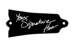 Signature truss rod cover for Gibson Banjos.