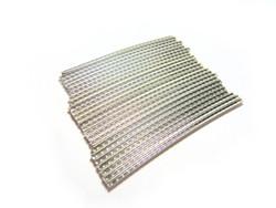 Jescar FW45100 nickel silver fretwire pre-radiused.