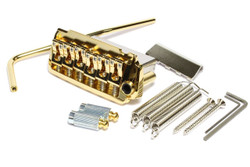 GOTOH EV510TS-BS-GG non-locking 2 point tremolo guitar bridge - gold plated