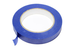 18mm (3/4') blue low tack masking tape