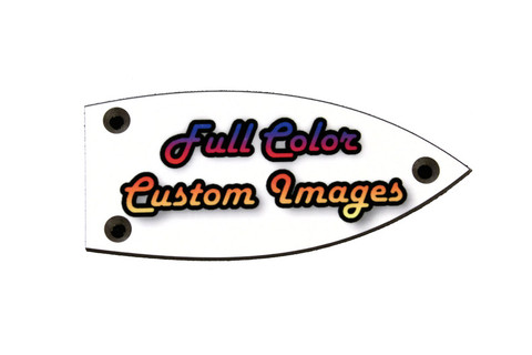 Custom Personalized Truss Rod Cover w/ your picture or logo for Gretsch guitars