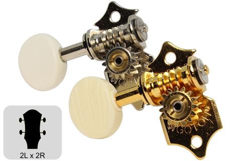 GOTOH UK700 Ukulele Tuning Machines w/ Height Adjustable Posts
