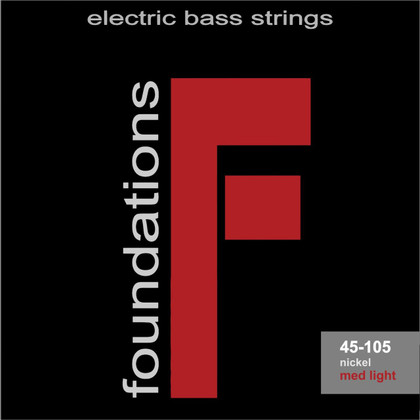 S.I.T. Strings FN45105L - Foundations 4 String Bass Nickel Medium Light (45-105)