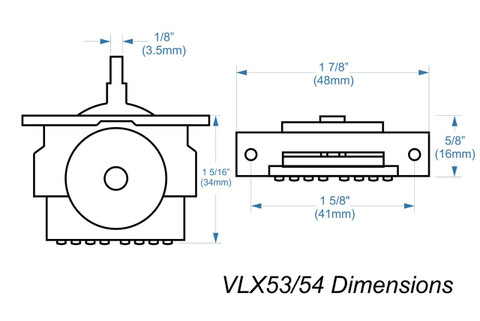 VLX53 High-quality import 5-way lever switch