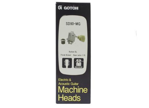 Gotoh Sd90 Locking 3 X 3 Guitar Tuners Nickel Philadelphia Luthier