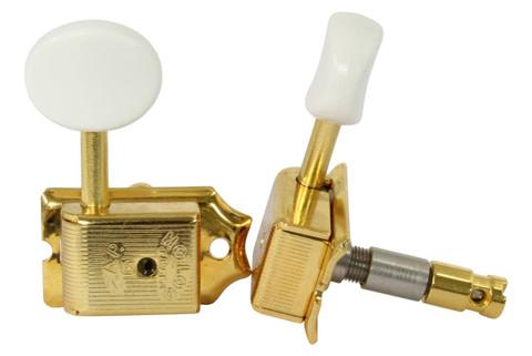 gotoh sd91 hapm locking adj height guitar tuners 6 inline gold w white knobs philadelphia. Black Bedroom Furniture Sets. Home Design Ideas