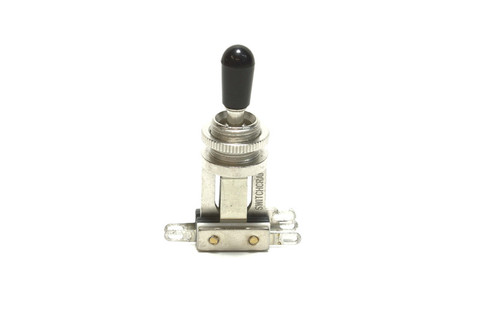 Switchcraft Short 3-way toggle switch Nickel