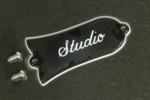 Gibson Les Paul Studio truss rod cover in package