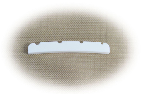 Bone Nut for Fender Jazz Bass guitar.   Pre-shaped and slotted. Allparts