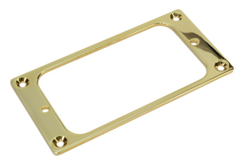 Gold plated Humbucker size Filtertron mounting ring