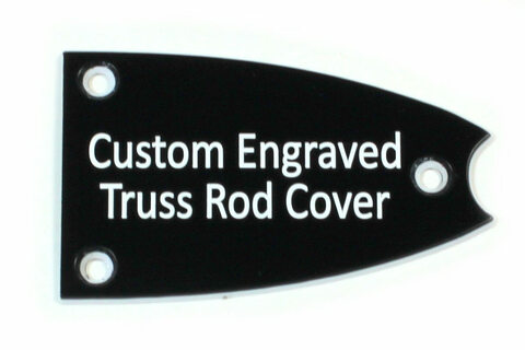 Custom Engraved Truss Rod Cover for Epiphone Broadway, Casino, etc