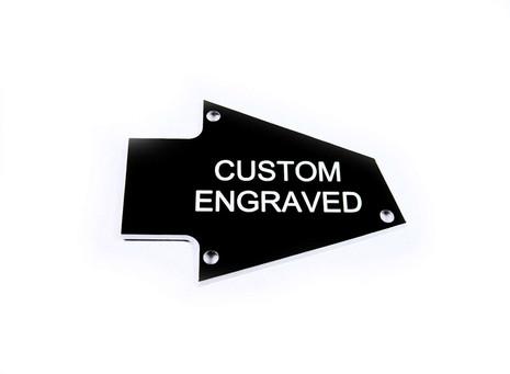 custom engraved truss rod cover fits ibanez rg guitars japan philadelphia luthier tools. Black Bedroom Furniture Sets. Home Design Ideas