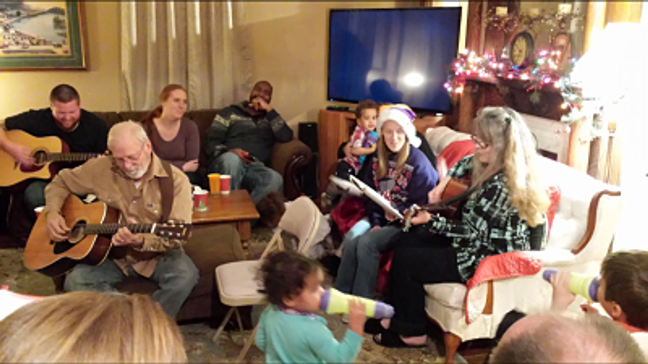 Our 2016 Falcsik Family Sing-a-Long