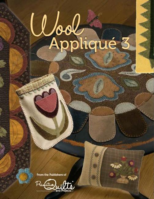 Primitive Wool Appliqu 233 Volume 1 Digital Download Only