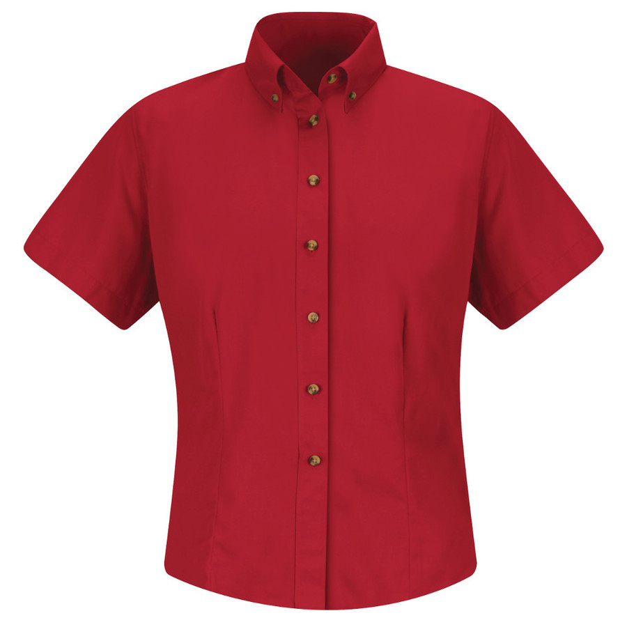 Women S Shirts Meridian Performance Red Kap 1t21 Or 1t11