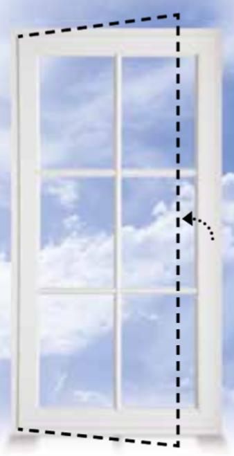 ... A Casement Window Swings Open Like A Door. Hinged On The Side, Casement  Windows ...