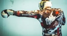 PunchTown Kranion KR Head Guard White/Black