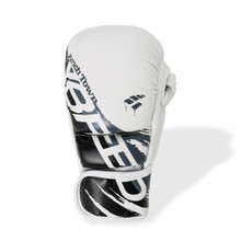 PunchTown xBreed KR Hybrid Gloves White/Black