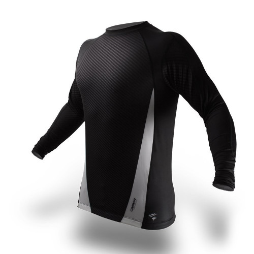 PunchTown Carbon Long Sleeve Rash Guard
